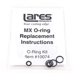 MX Coupler Replacement O-Ring Kit